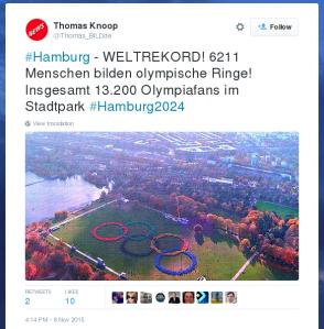 Ein Bild-Redakteur auf Twitter: 6211 Menschen im Ring,  6989 weitere … woanders?