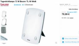 """""""Beurer TL60"""": Unhandlich, schwer, billig verarbeitet. Verkaufspreis: 80 Euro; gefühlter Warenwert: 20 Euro."""