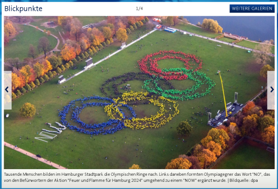 Screenshot: tagesschau.de am 8.11.2015